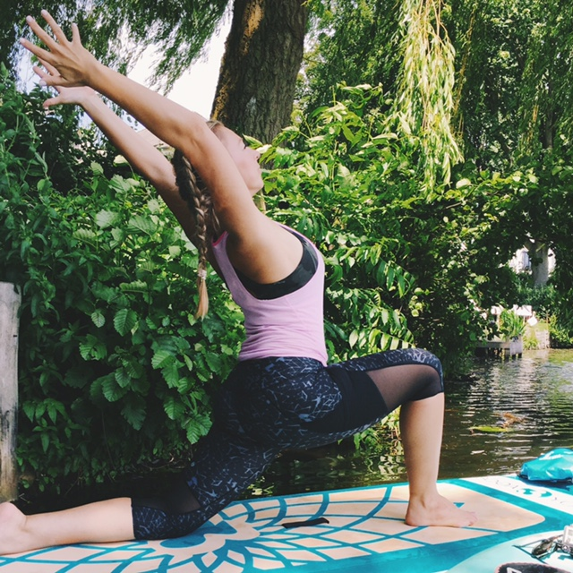 SUP Yoga - perfect combination of Yoga and Stand Up Paddeling