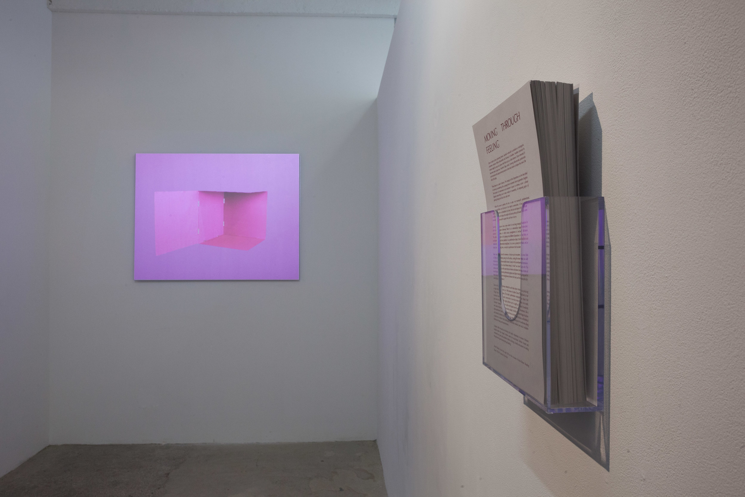 Ampersand Box (installation view)