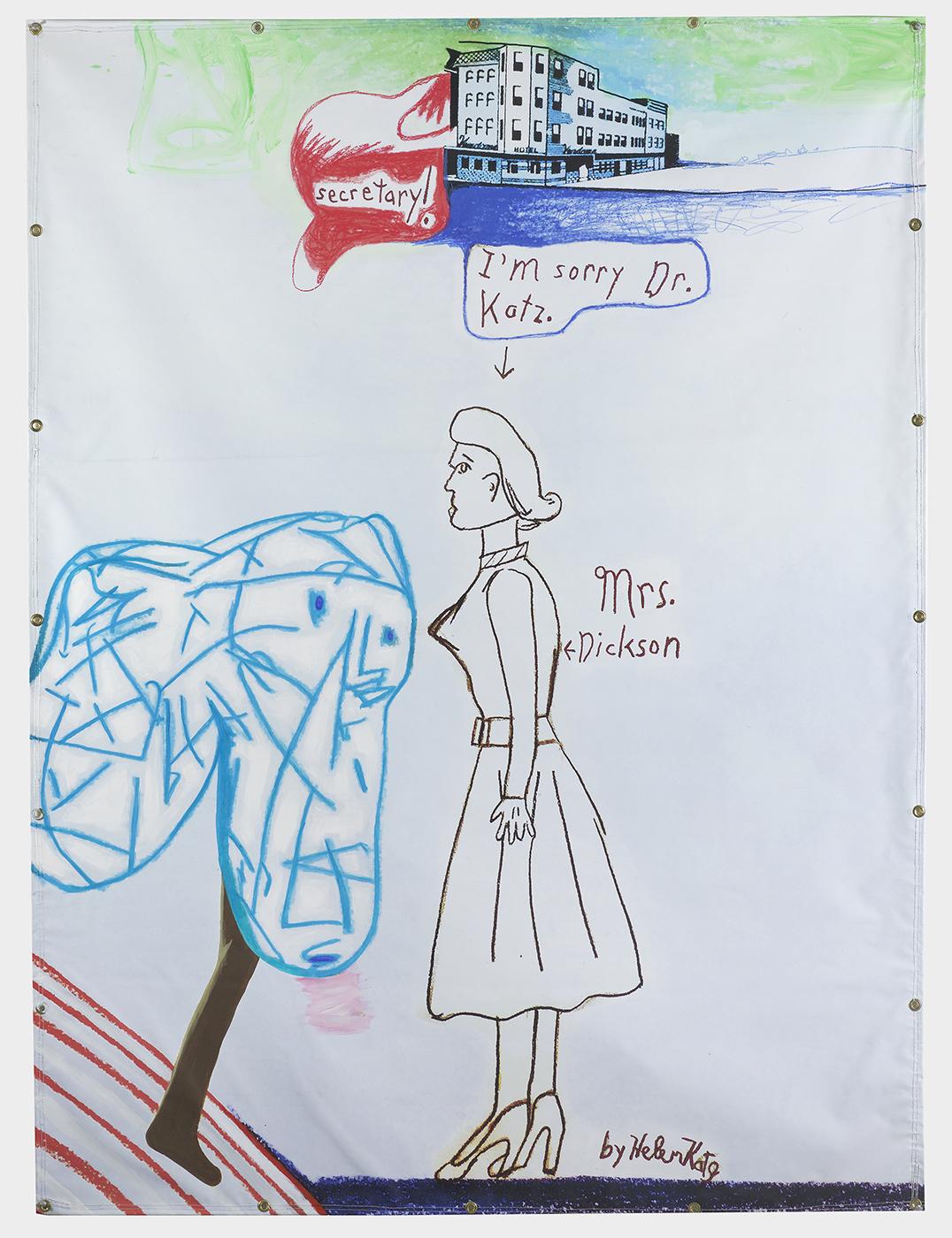 Helen Draws Mrs Dickson