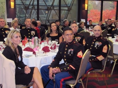 USMC Birthday Celebration at the Bellevue Hilton.
