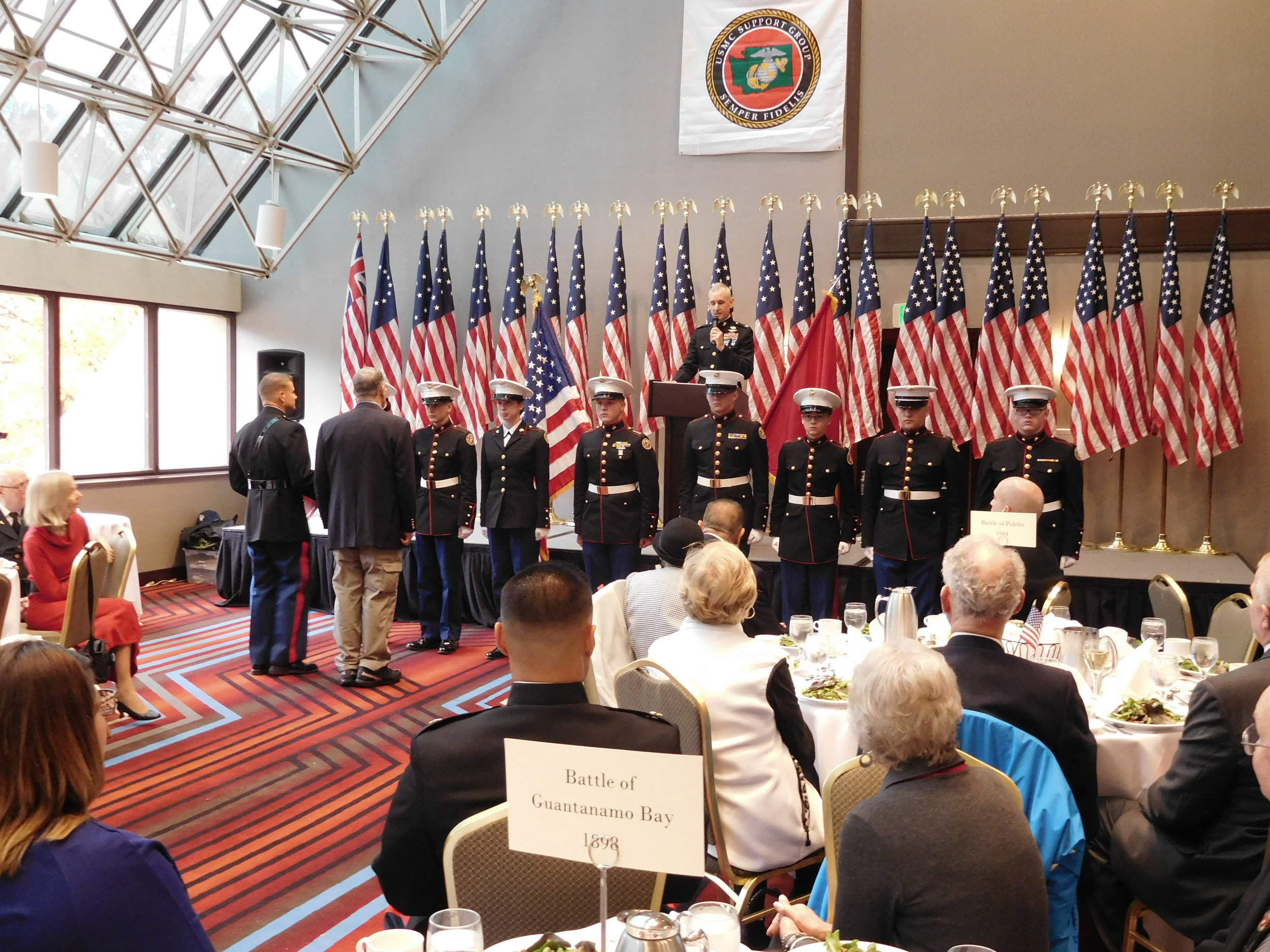 USMC Birthday Luncheon 2016