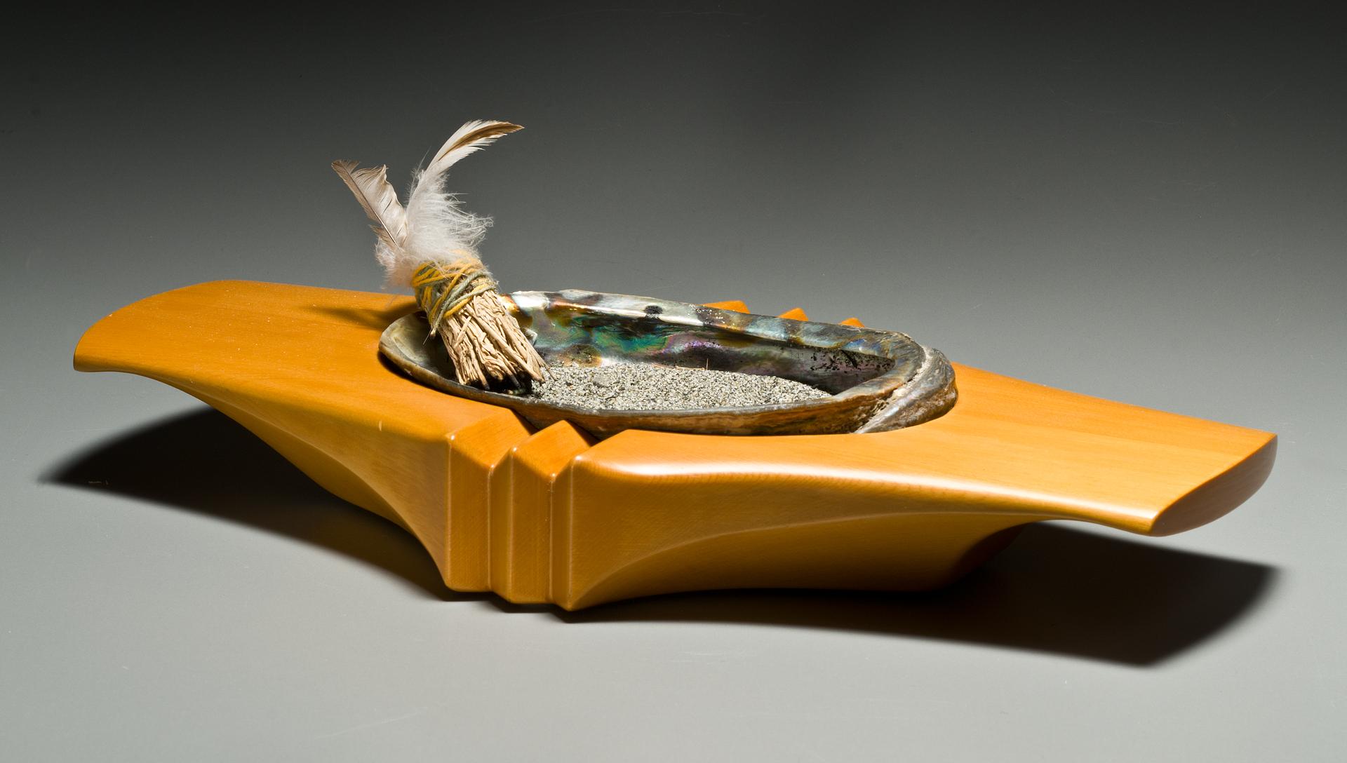 Carved Yellow Cedar Bowl