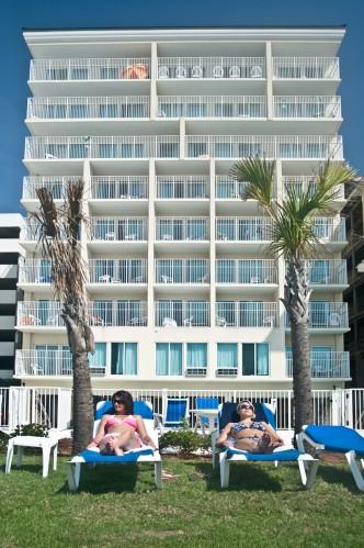3 Plams Ocean Hotel Myrtle Beach