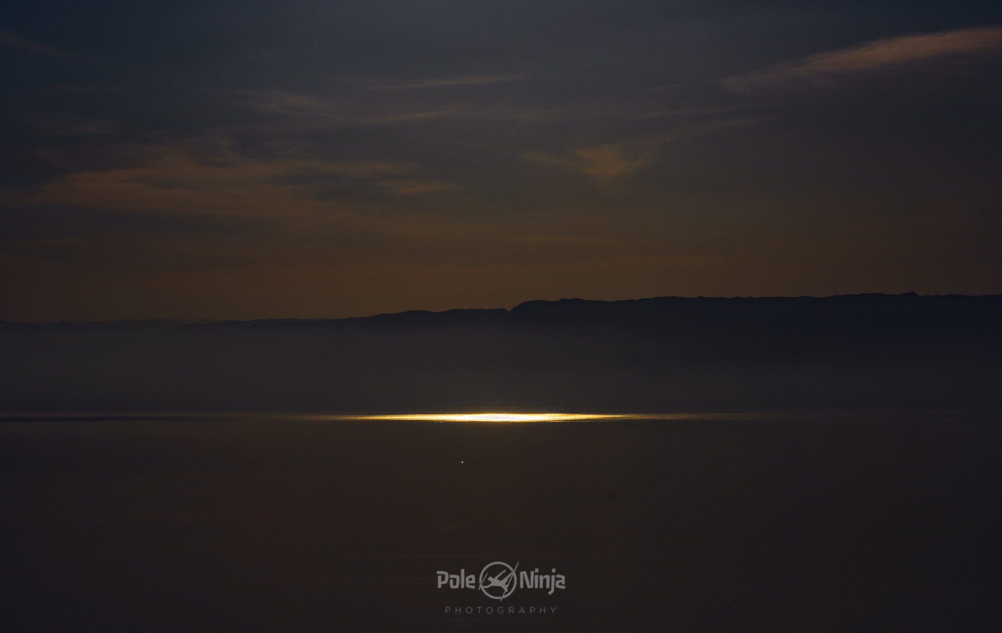 And the Dead Sea, reflecting the sun, as we race toward the sea before sunset