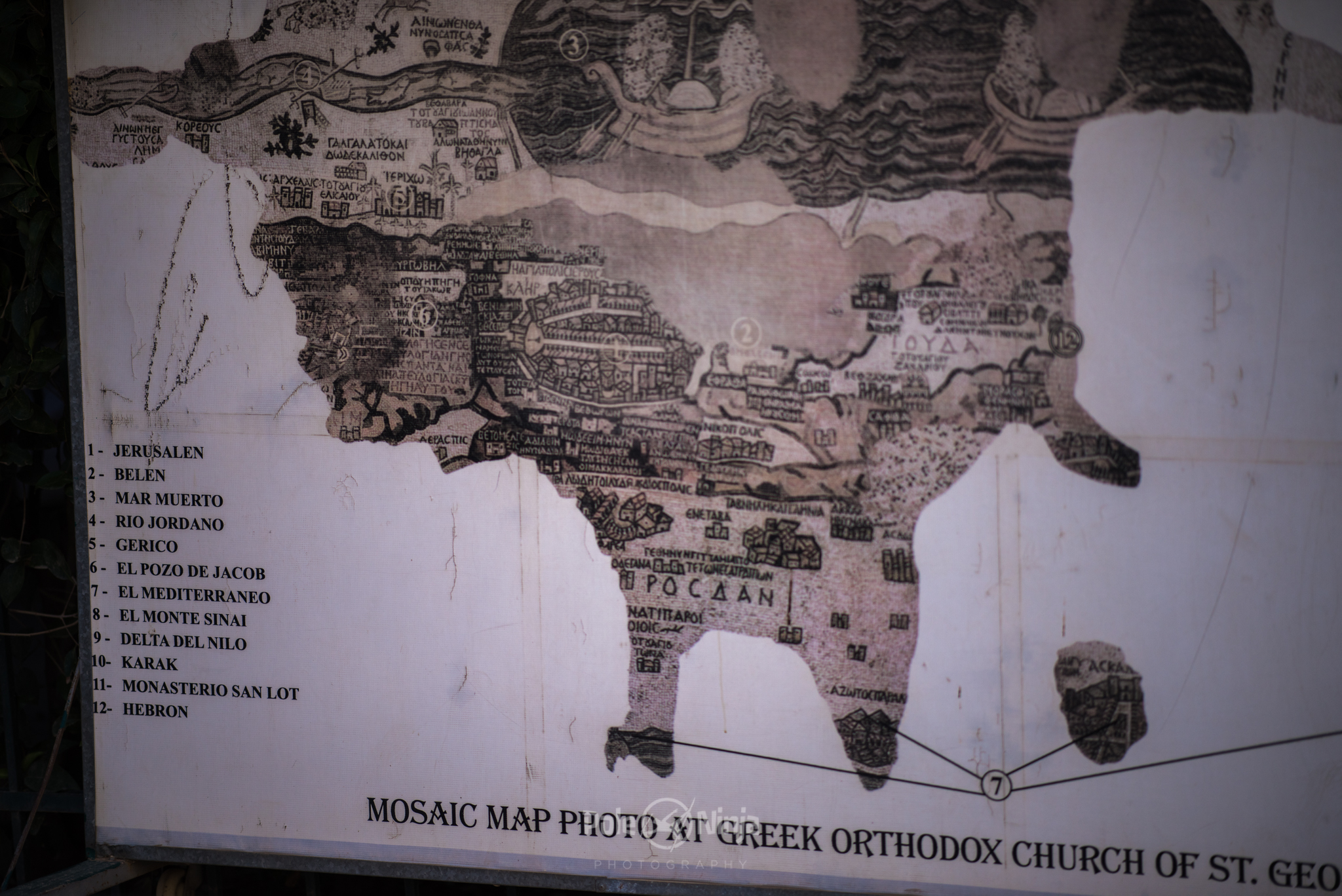 The map they found that was still left in tact --apparently the entire floor used to be a map.