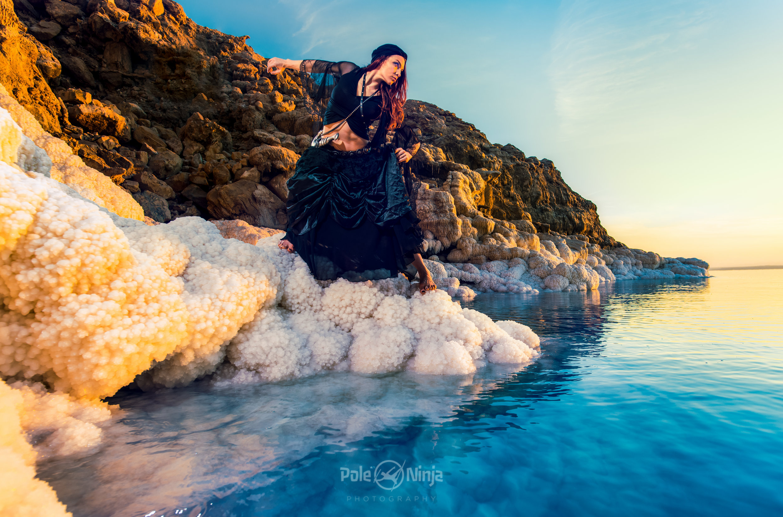 Marlo at the Dead Sea, Jordan