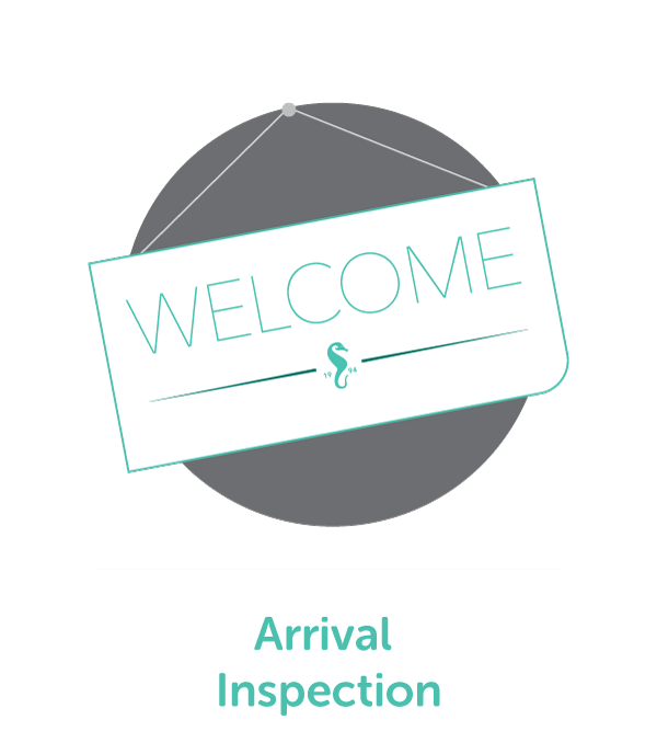Our Arrival Inspection service will make you feel as if you're seeing your home for the first time, all over again, when you return.