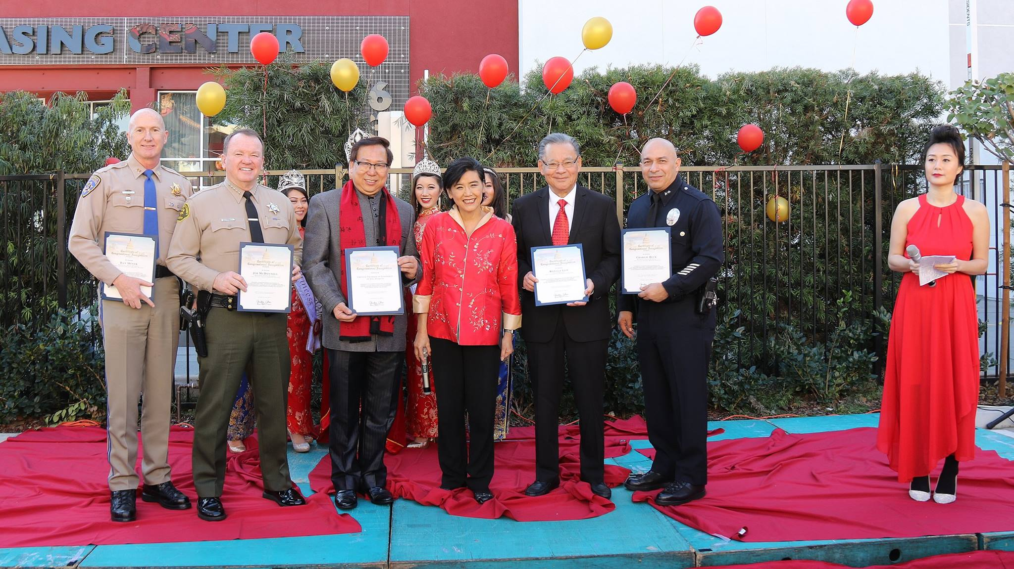 Public office holders, elected officials and community supporters at the VIP reception to kick off the 118th Golden Dragon Parade-2.jpg