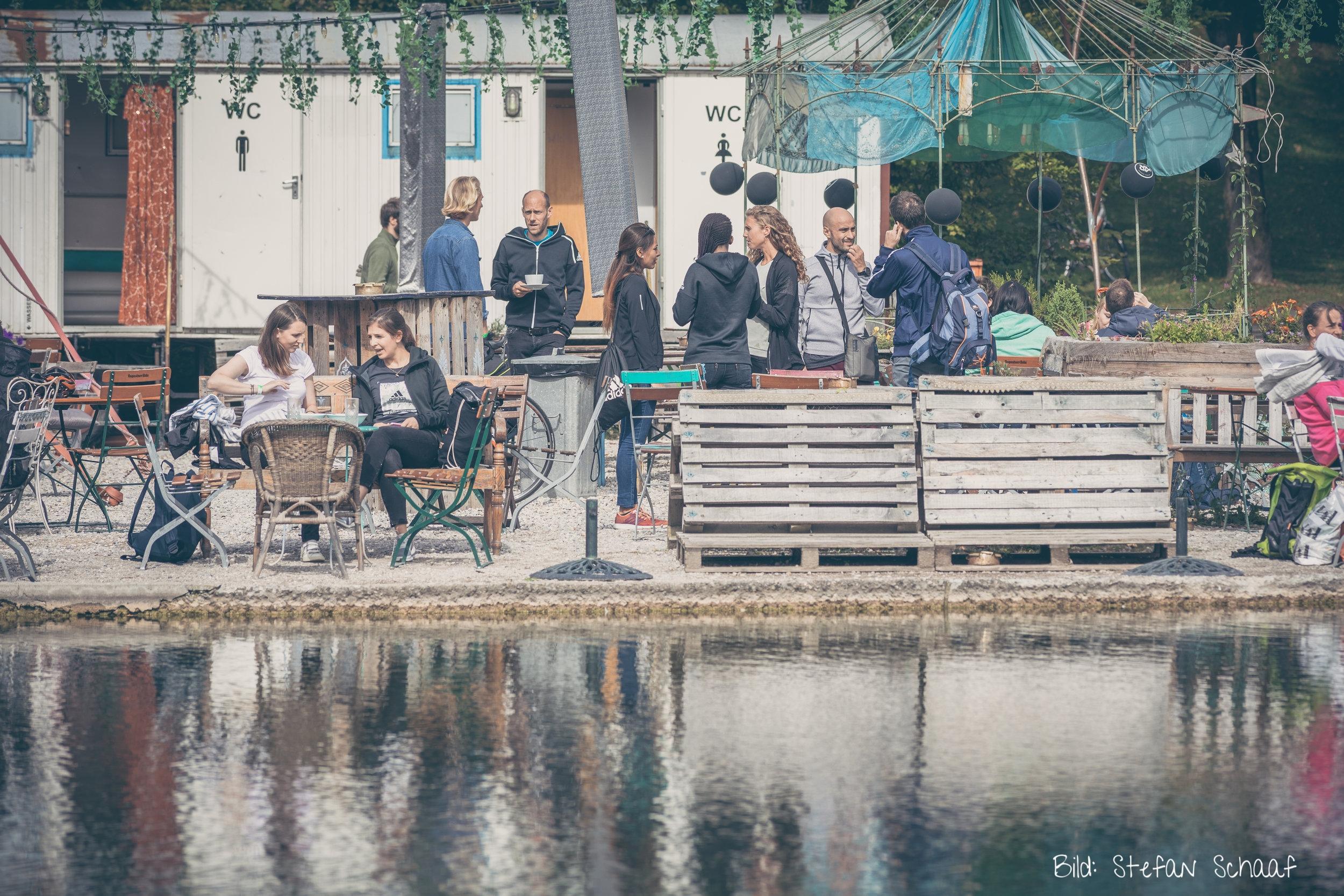 Am Vortag gab es noch ein Frühstück im Café Gans...