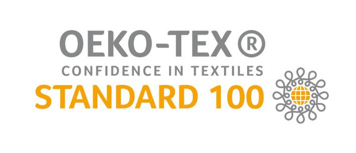 So sieht das Öko-Tex Standard 100 Logo aus.