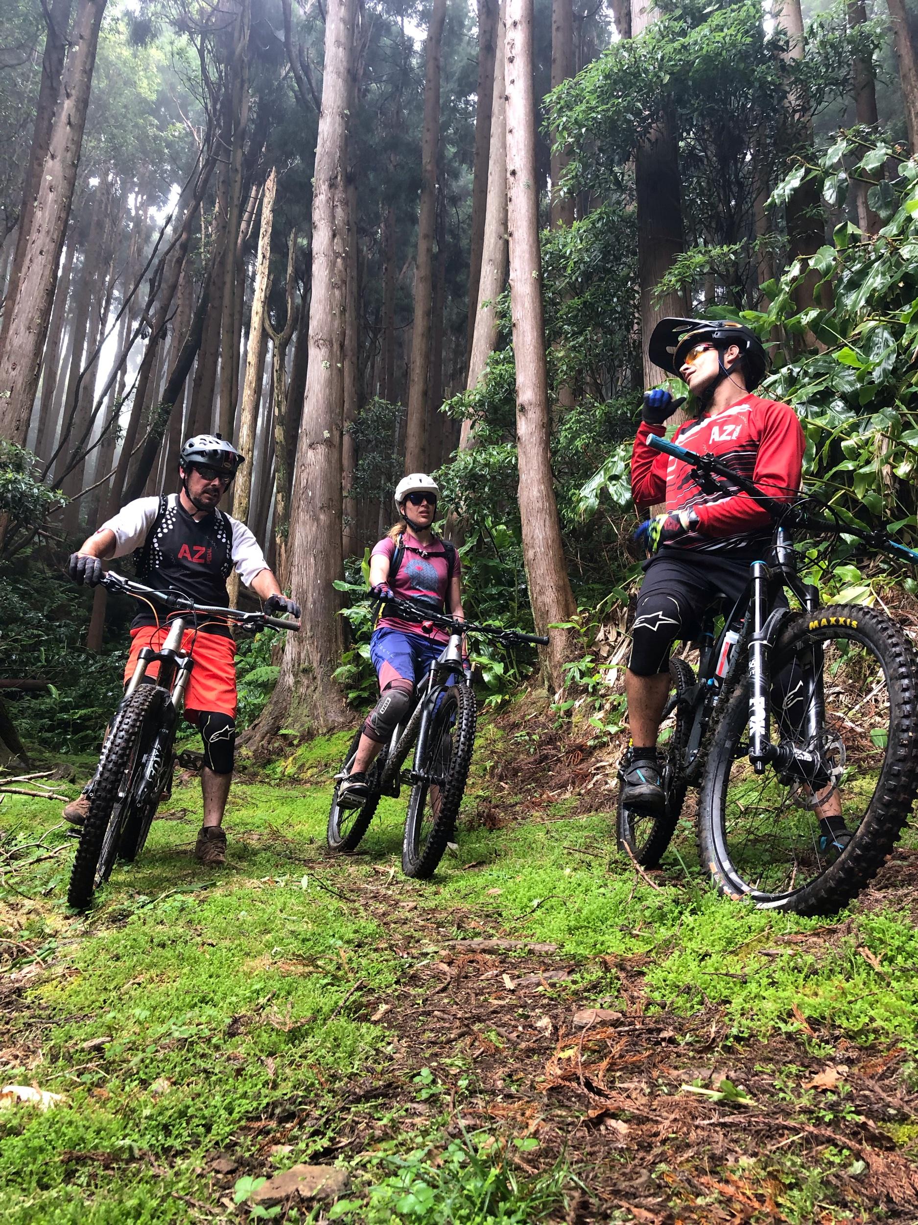 Unterwegs mit Nuno und Hugo auf Santa Maria