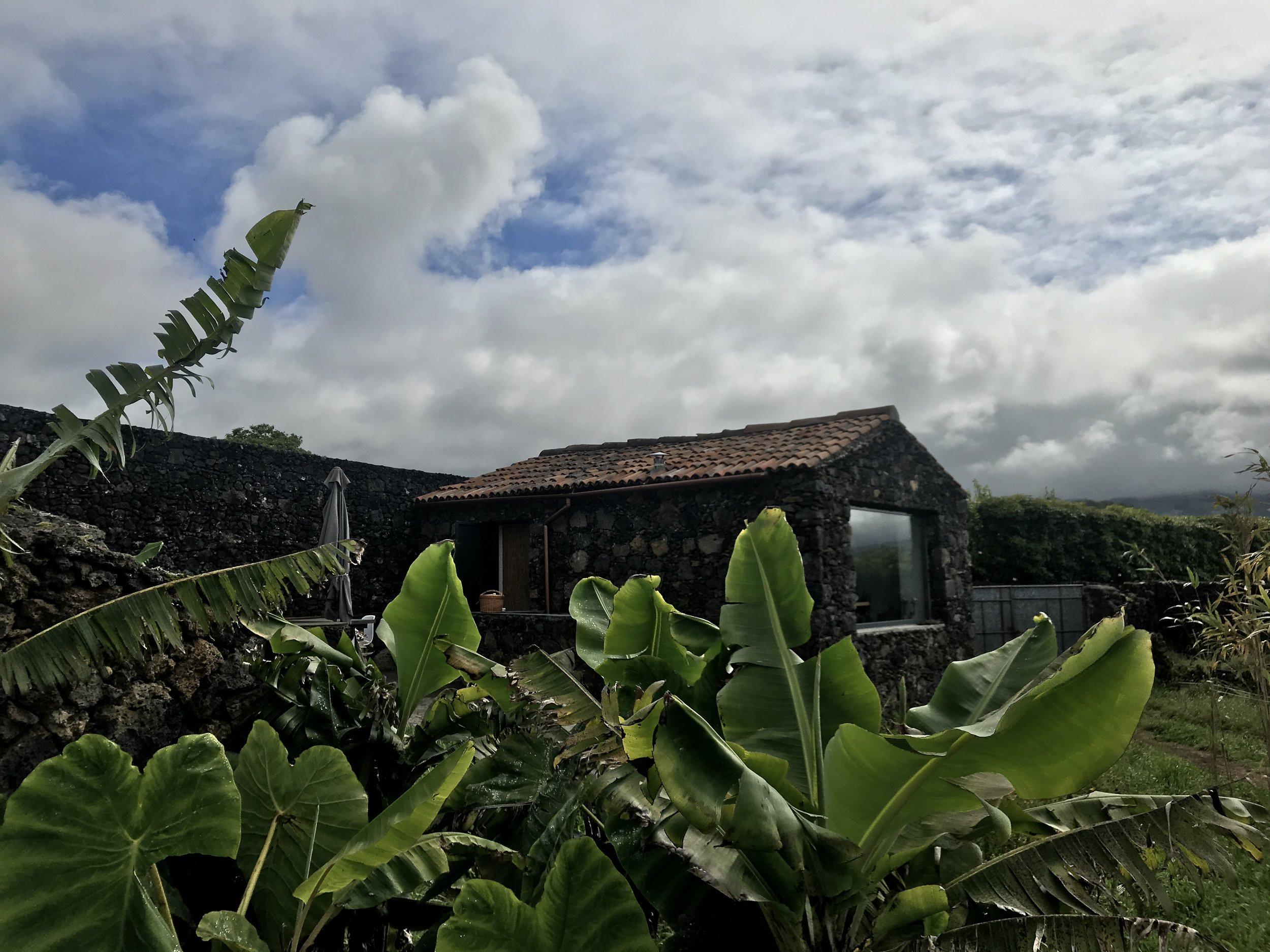 Unser Unterkunft für die ersten Tage auf São Miguel