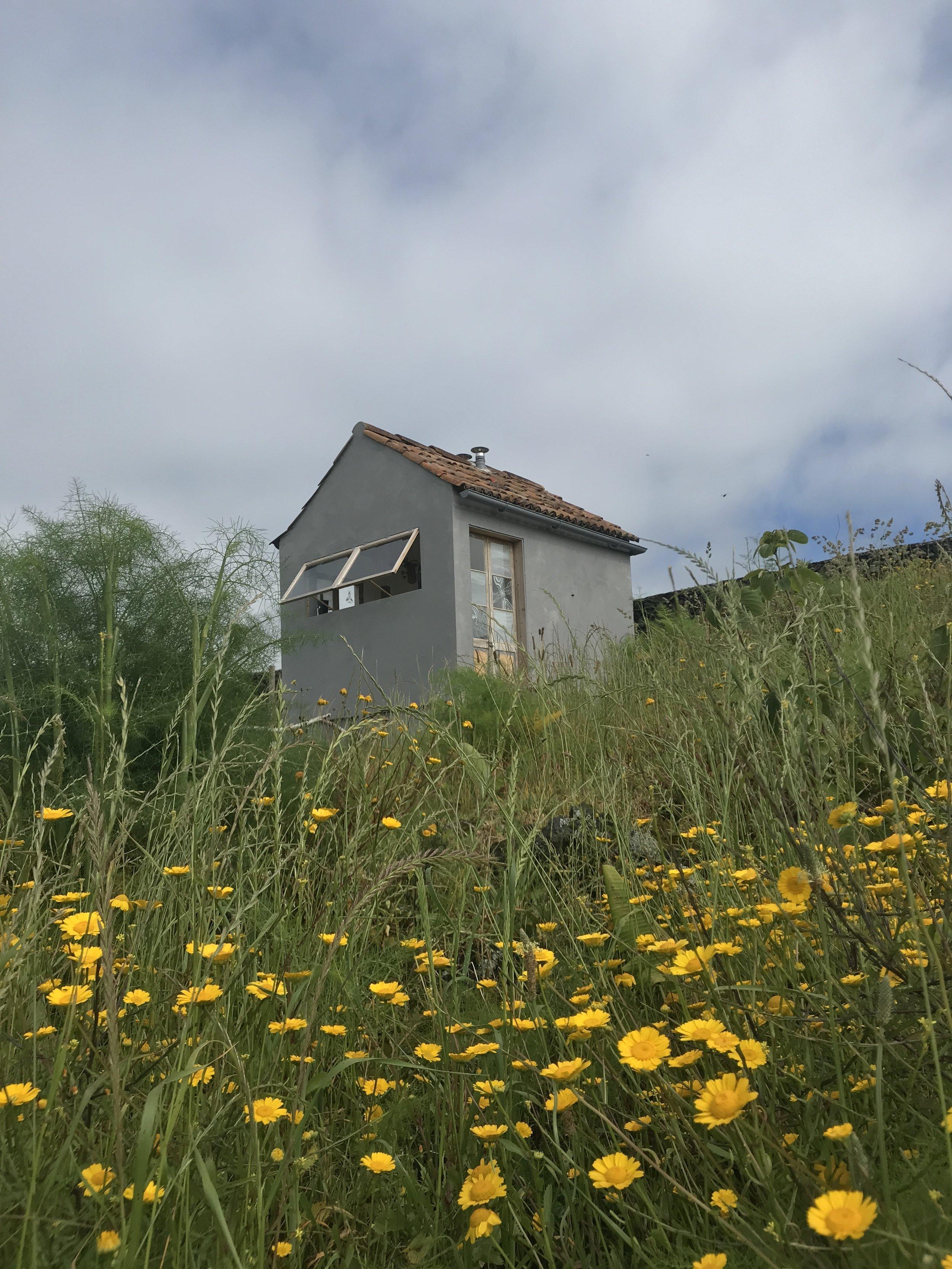 Das Häuschen mit der Komposttoilette