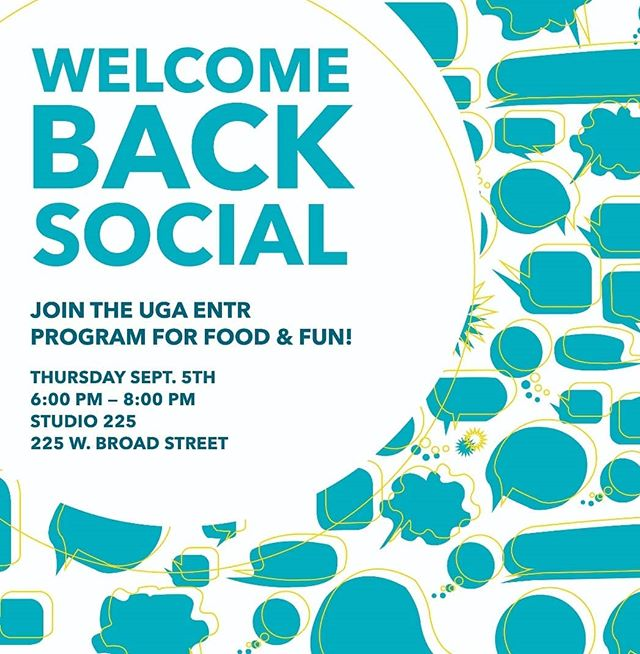 Our welcome back social is tomorrow!! Make sure to attend, not only for the fun and socializing, but especially for the food!