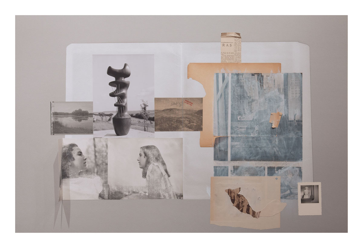 María Martínez - Cañas   Untitled 007, 2016  Mixed Media on Archival Arches Aquarelle Rag Paper  44 x 30 inches