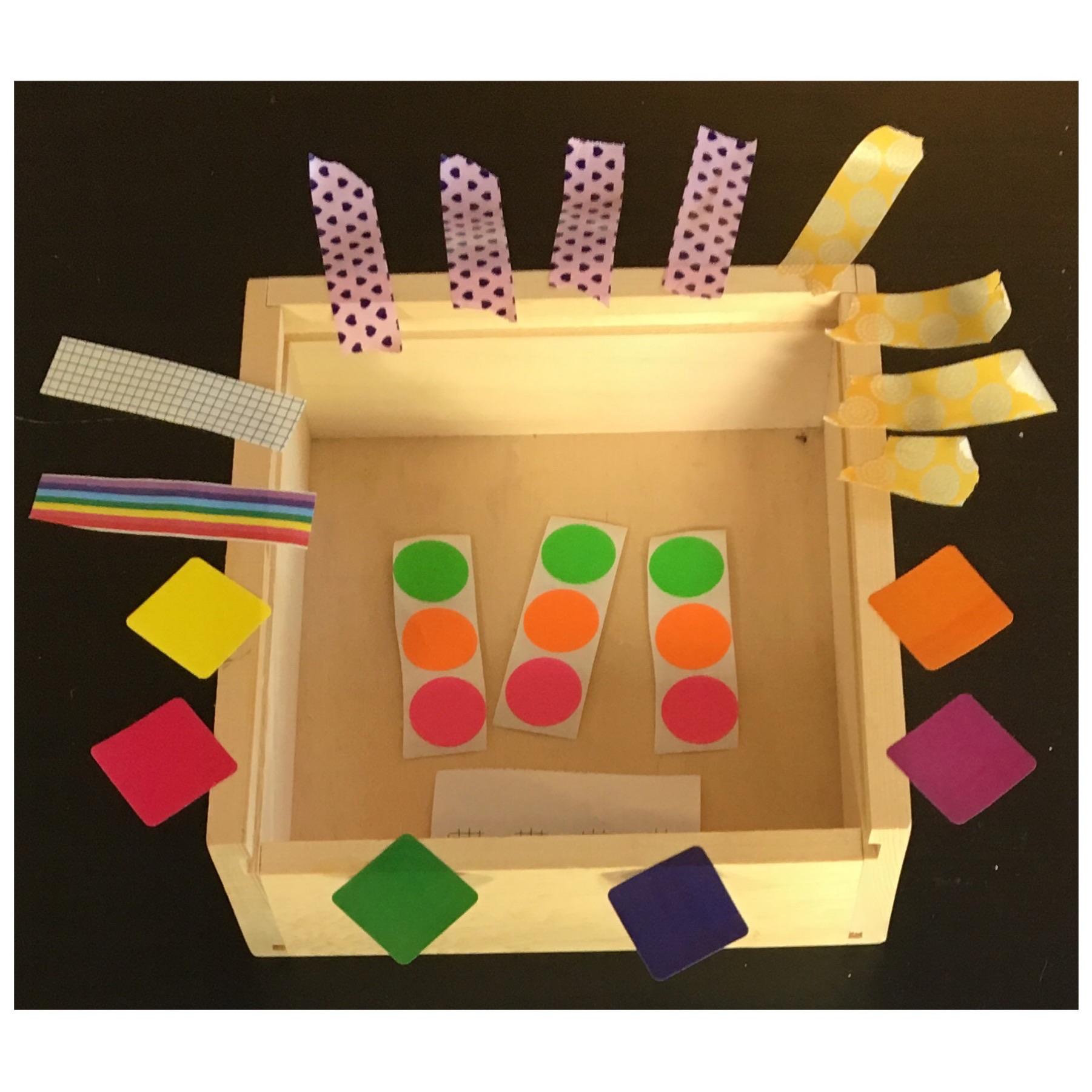 Toddler Sticker Tray