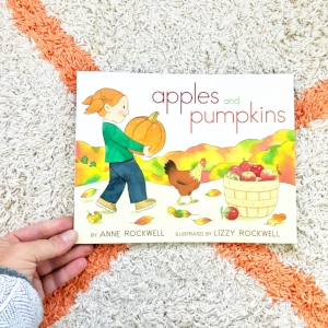 - We've been reading this favorite since the children were very small. It's wonderful for toddlers on up. Perfect to read before and after a trip to the pumpkin or apple farm.