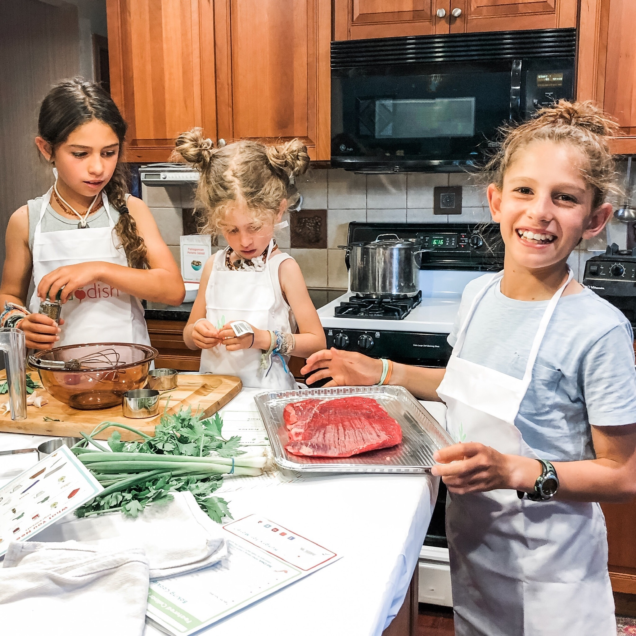 Cooking with Raddish Kids
