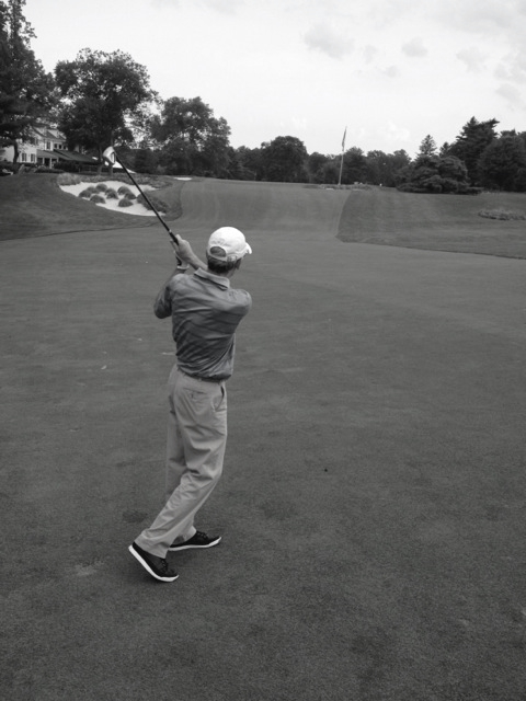 72nd hole, Merion 2014  What you have been searching for is already inside you.