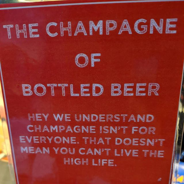 Happy New Year! Here til 6pm tonight! #highlife #poppinbottles #nye