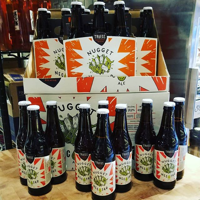 @troegsbeer #nuggetnectar just landed @dibrunobottleshop #treatyoself #seasonalbeer #dibrunos