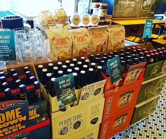 @dibrunobottleshop has you covered for #gameday with $12.99 select local 6pks and all your snack needs! #gobirds #locallove #localbeers #allthesnacks #gamedayheadquarters #dibrunos