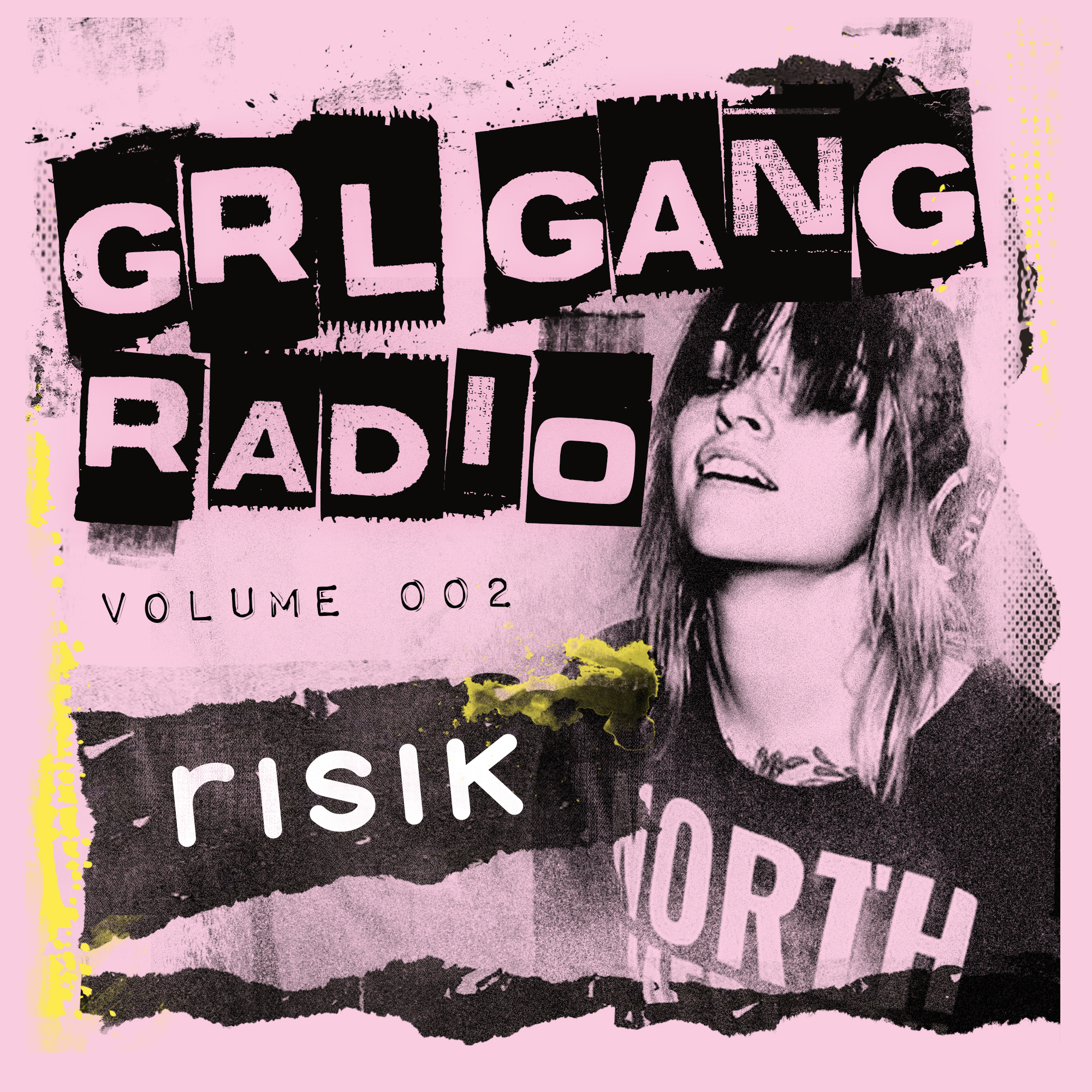GRL GANG RADIO 002: RISIK - Risik is not your average electro trash vampire freak next door; the Ohio-based DJ/producer/graphic designer has been blaring her dark bass sound through the ears of unsuspecting listeners for several years.