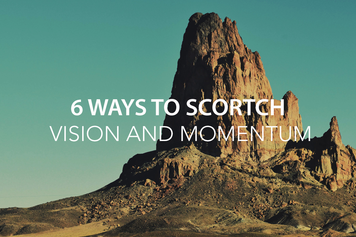 6 Way to Scorch Organizational Momentum - The Center Consulting