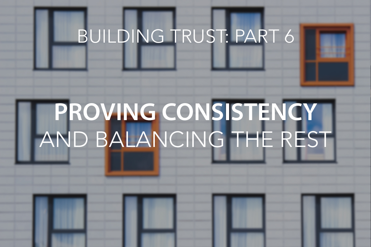 Consistency Trust Blog - The Center Consulting