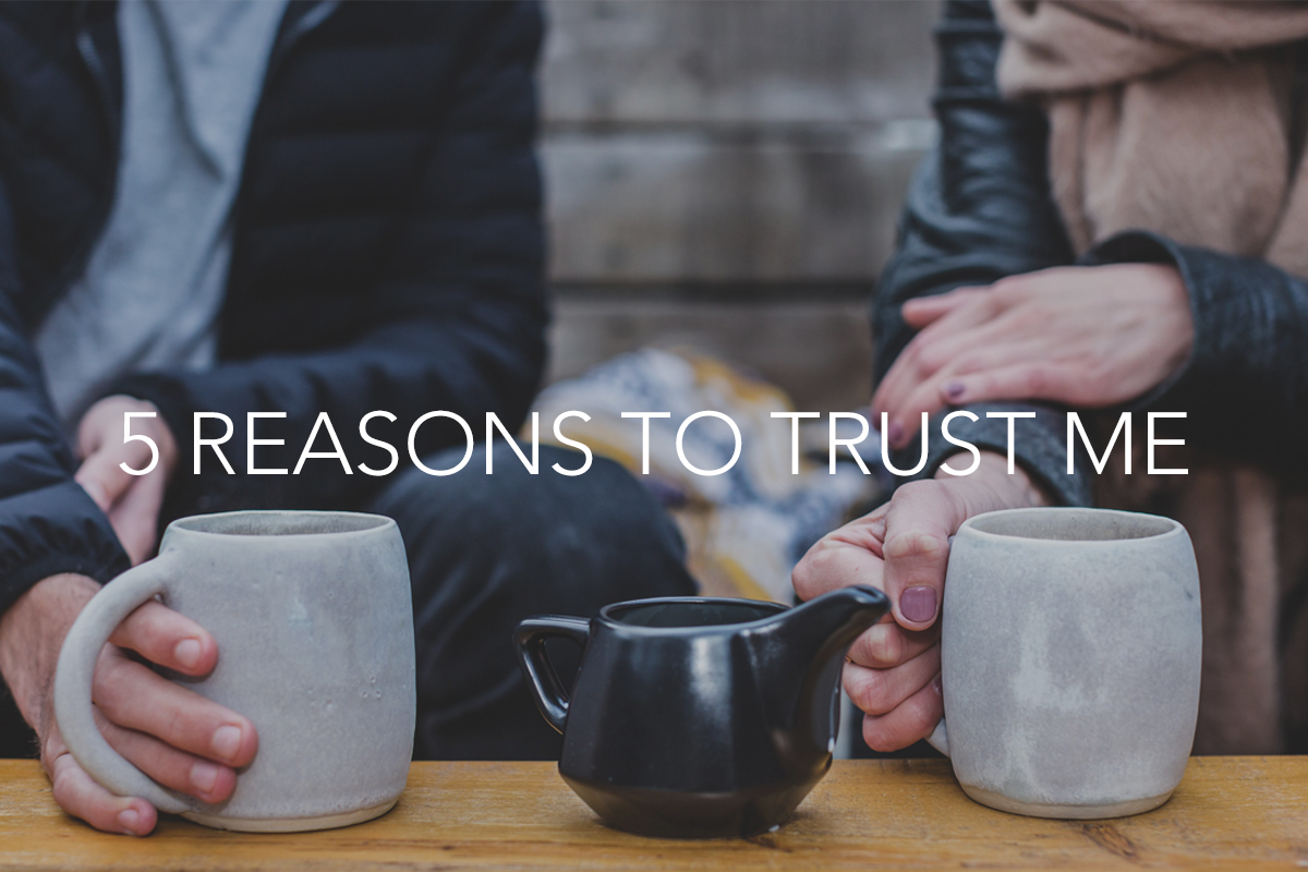 5 Reasons to Trust Me - The Center Consulting and Leadership Coaching