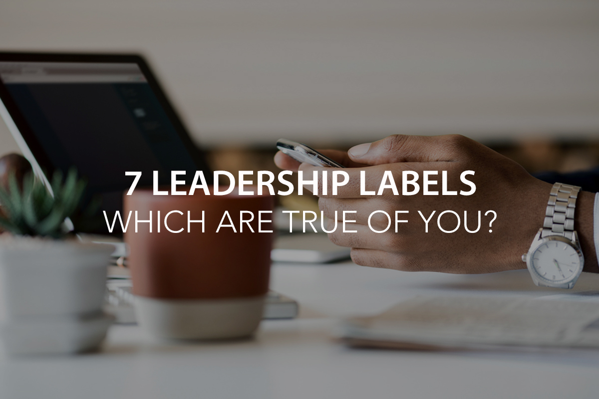 7 Leadership Labels: Which are true of you? - The Center Consulting Group - Leadership Coaching and Consulting for Businesses, Churches, and Nonprofits