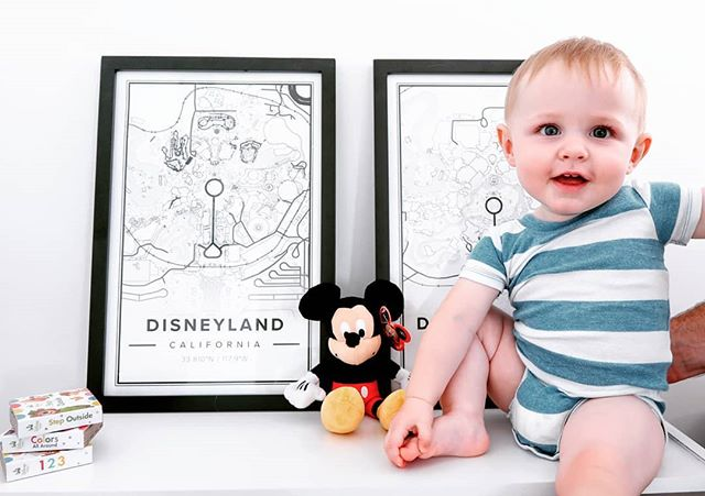 If you know anything about our family, you know that we LOVE Disney. These maps from @mapiful allow to have a little more of that Disney magic in our home! With Mapiful, you can customize the location and design of your map. Use the code Sunny10 through the end of the month to get your customized map and add something special to your home! #ad #mapiful