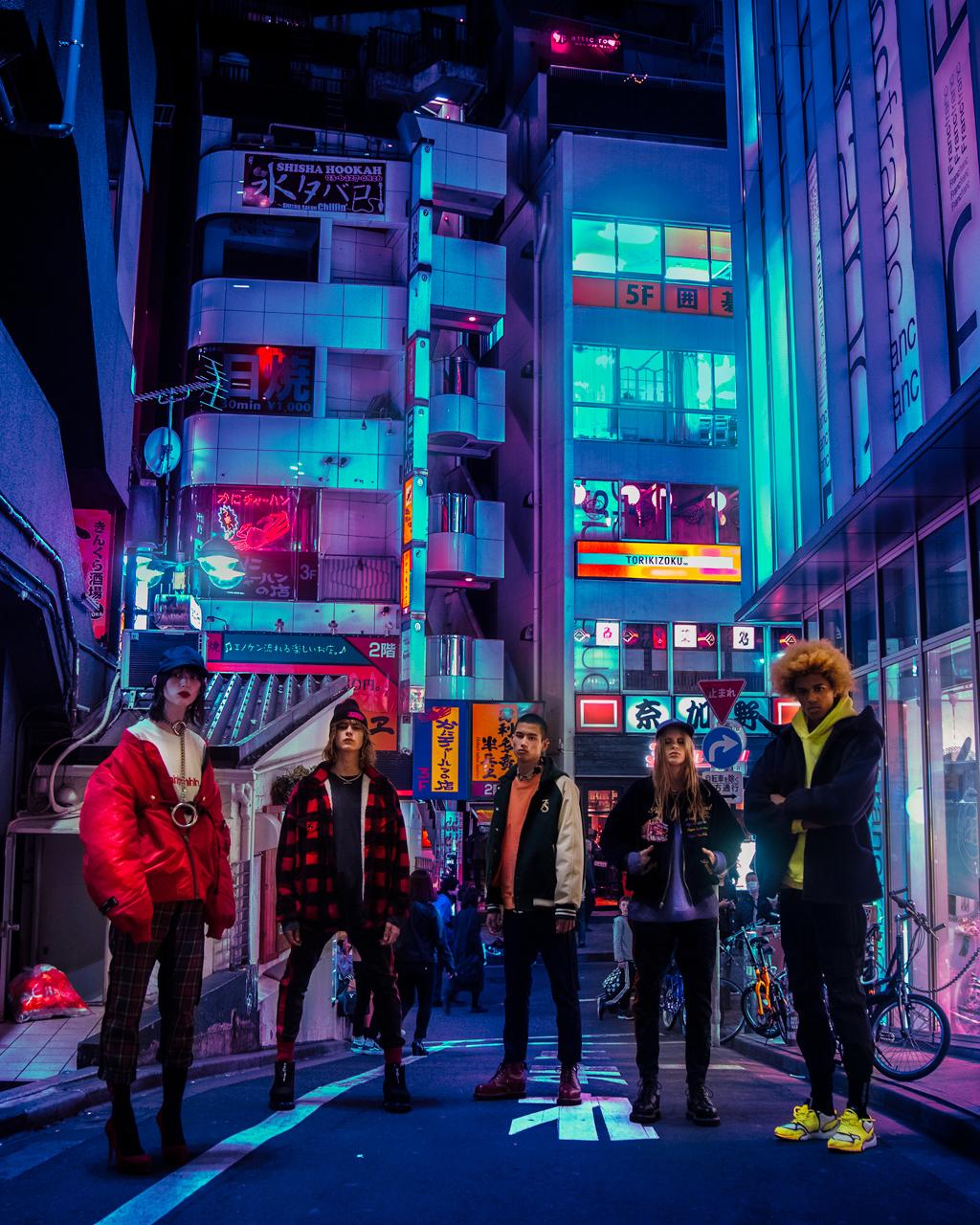 4k Resolution Neon Wallpaper Hd Japan Neon Lights Wallpaper