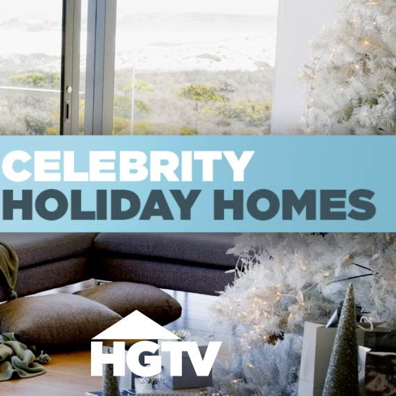 Celebrity Holiday Homes - Brooke Burke | HGTV 2010-  Read Article