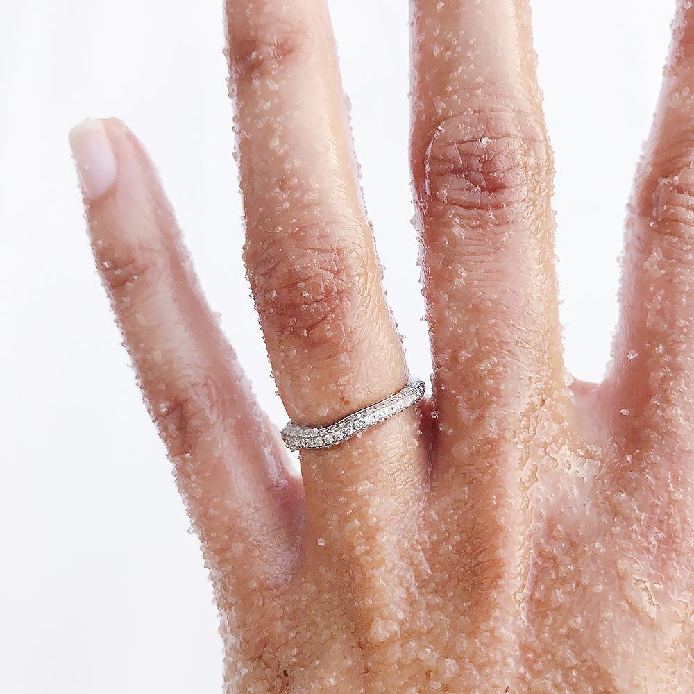 shea moisture hibiscus hand scrub