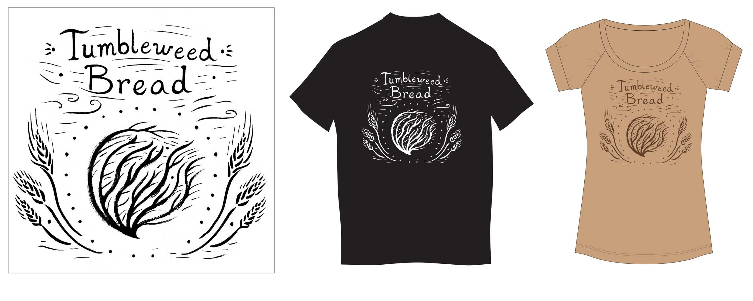 Logo for Tumble Weed Bread Company