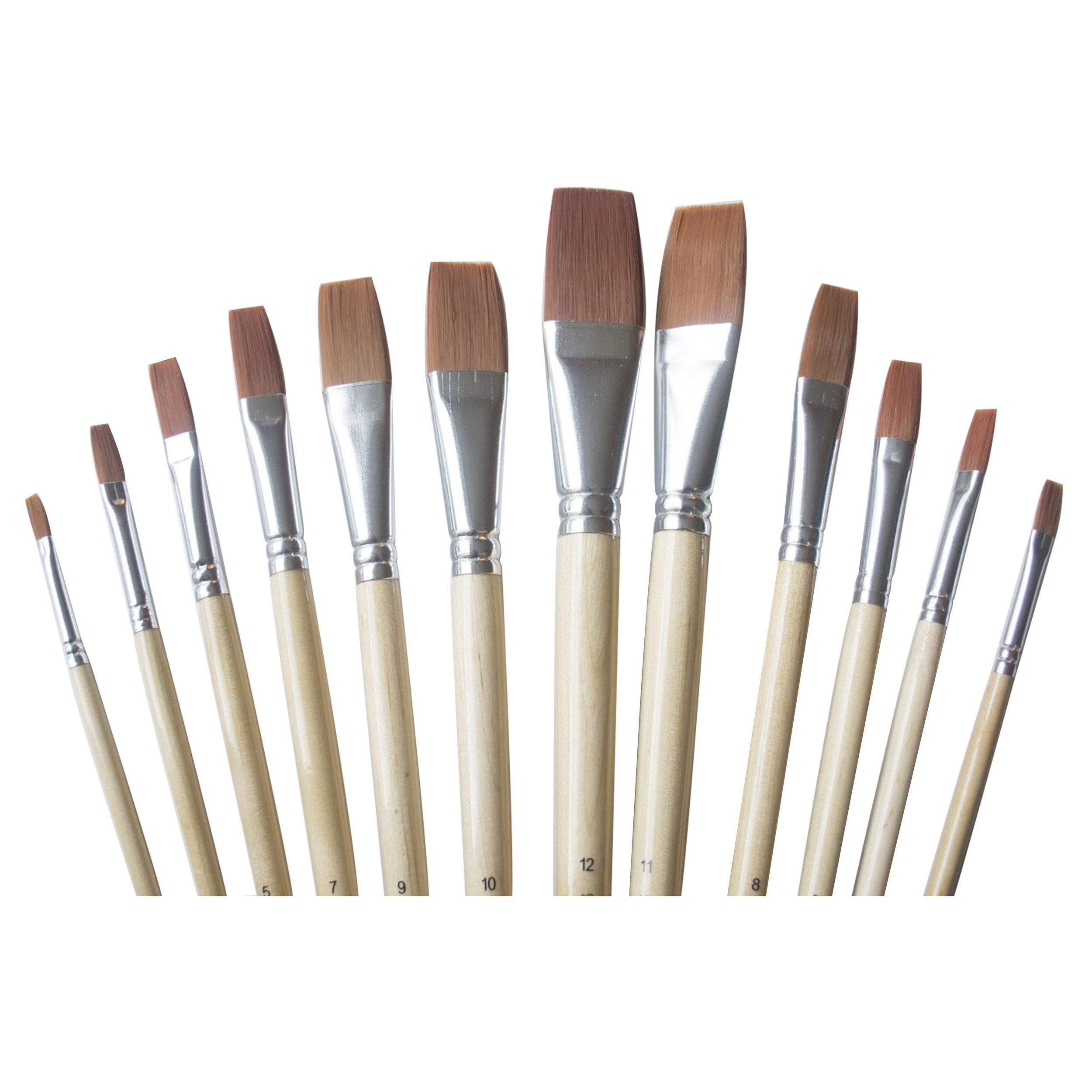 Goat Paint Brush #4  #6 #3 4 Paint Brushes Pony Paint Brush # 2
