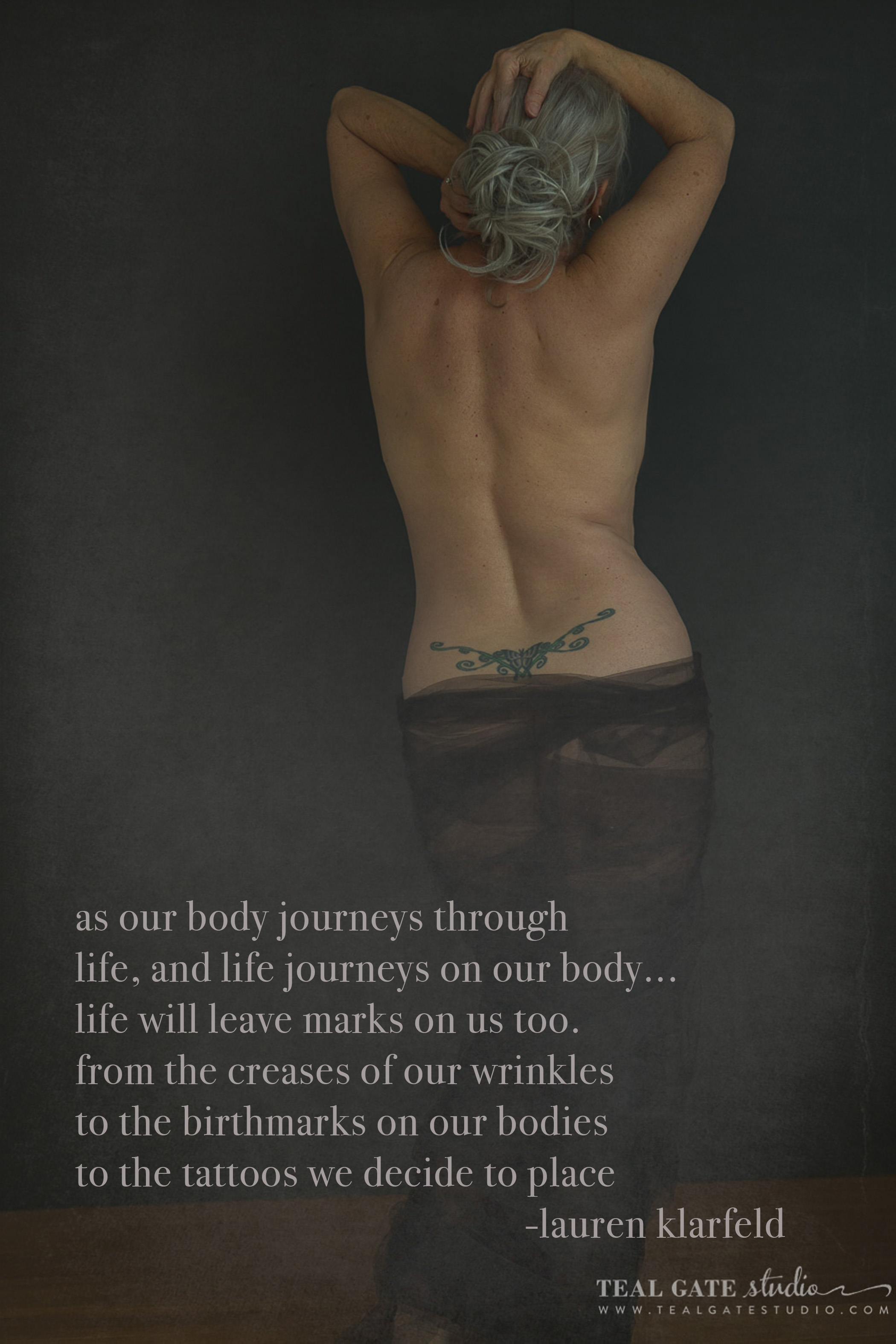 Yes! - I totally and completely love and accept myself at this age now and in this body.