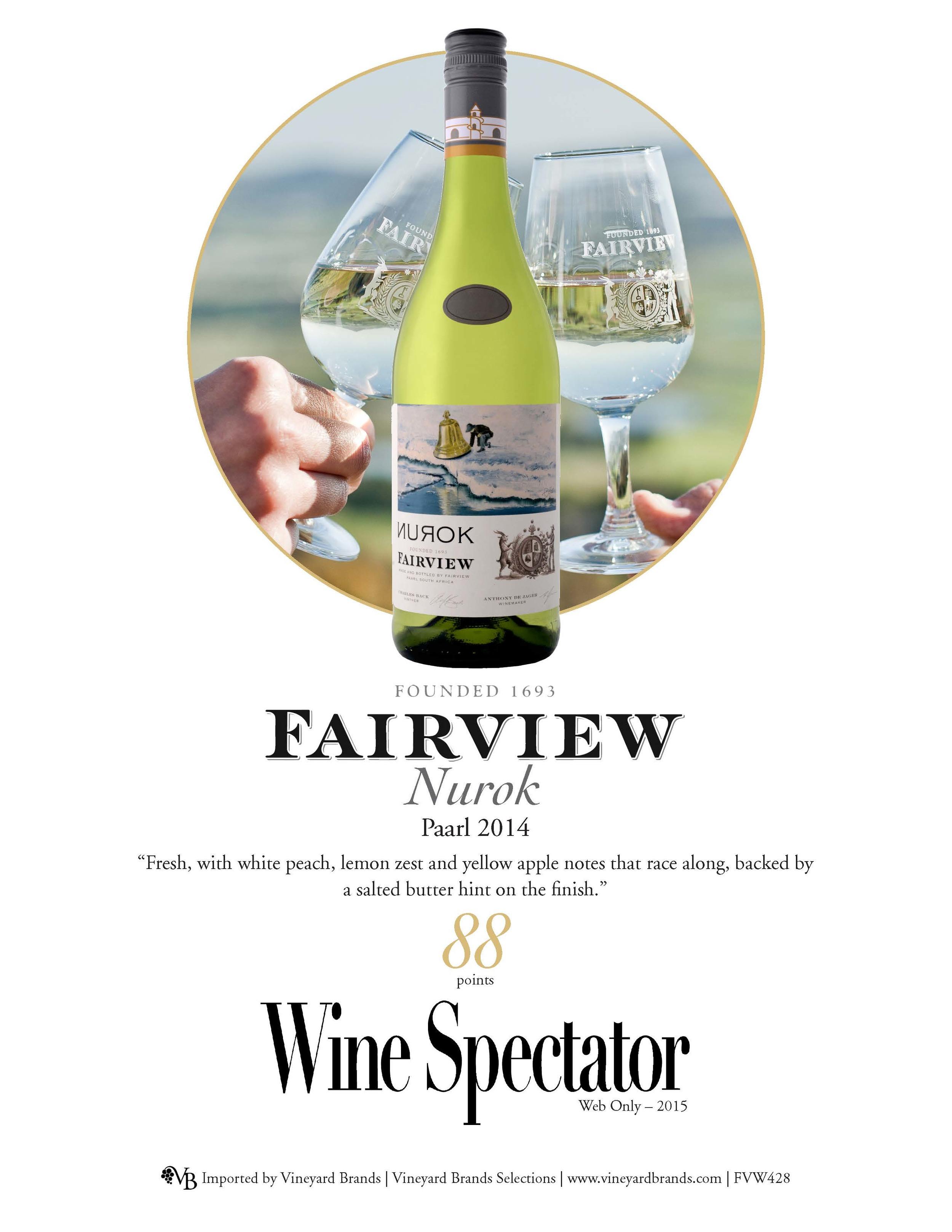 Fairview Nurok Paarl 2014