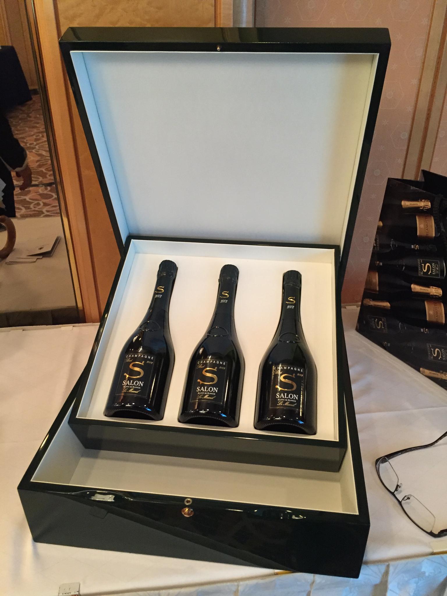 Champagne Salon 2004 Release