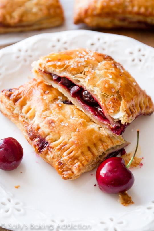 Simpe Cherry Pastry Pies