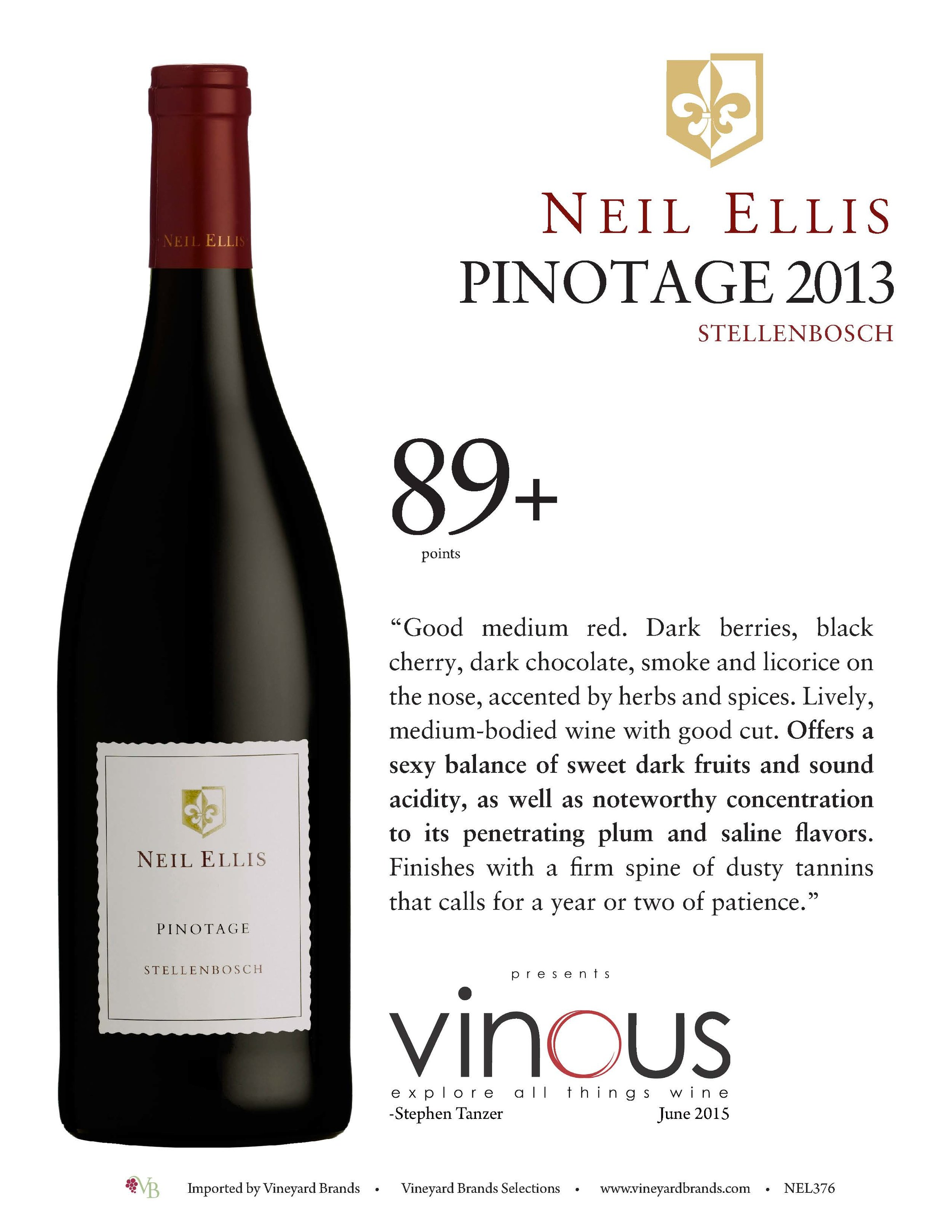 Neil Ellis Pinotage 2013