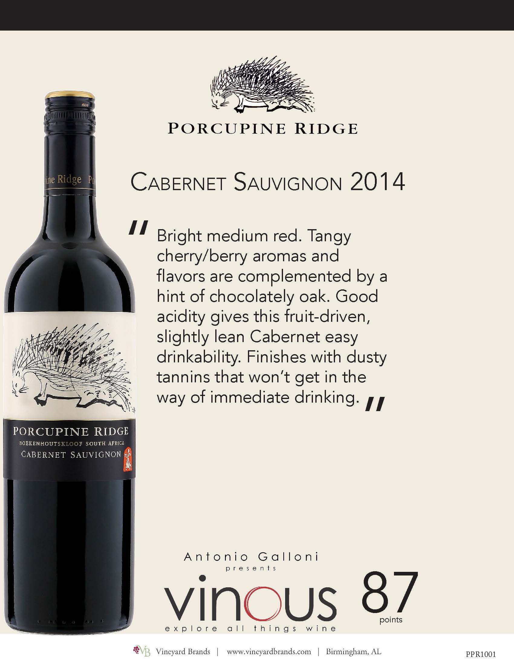 Porcupine Ridge Cabernet Sauvignon 2014.jpg