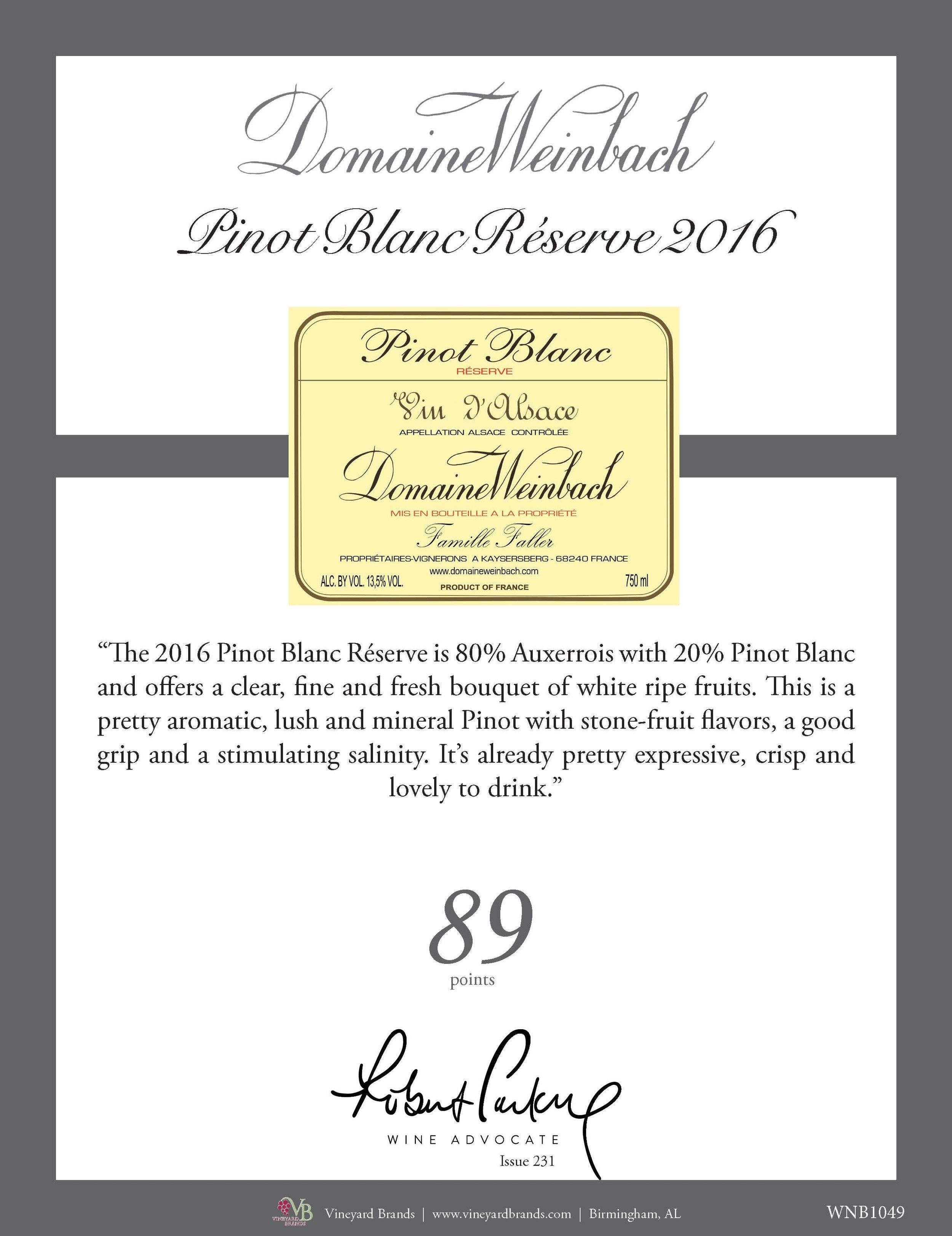 Domaine Weinbach Pinot Blanc Reserve 2016.jpg