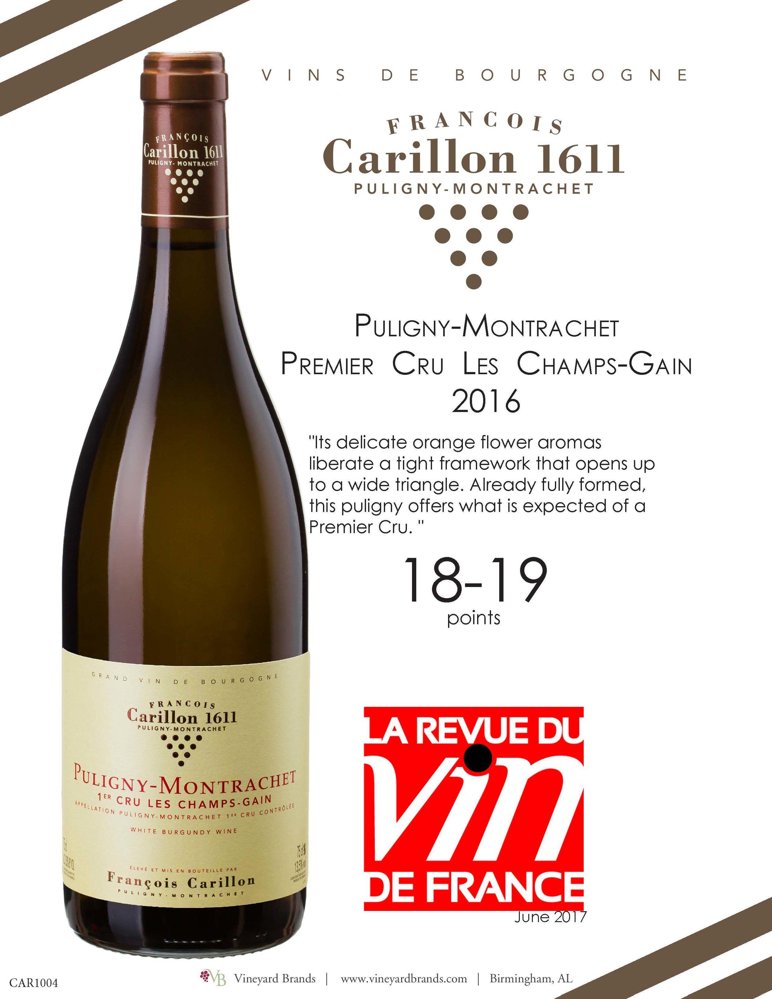 Carillon Puligny Montrachet Premier Cru Les Champs Gain 2016.jpg