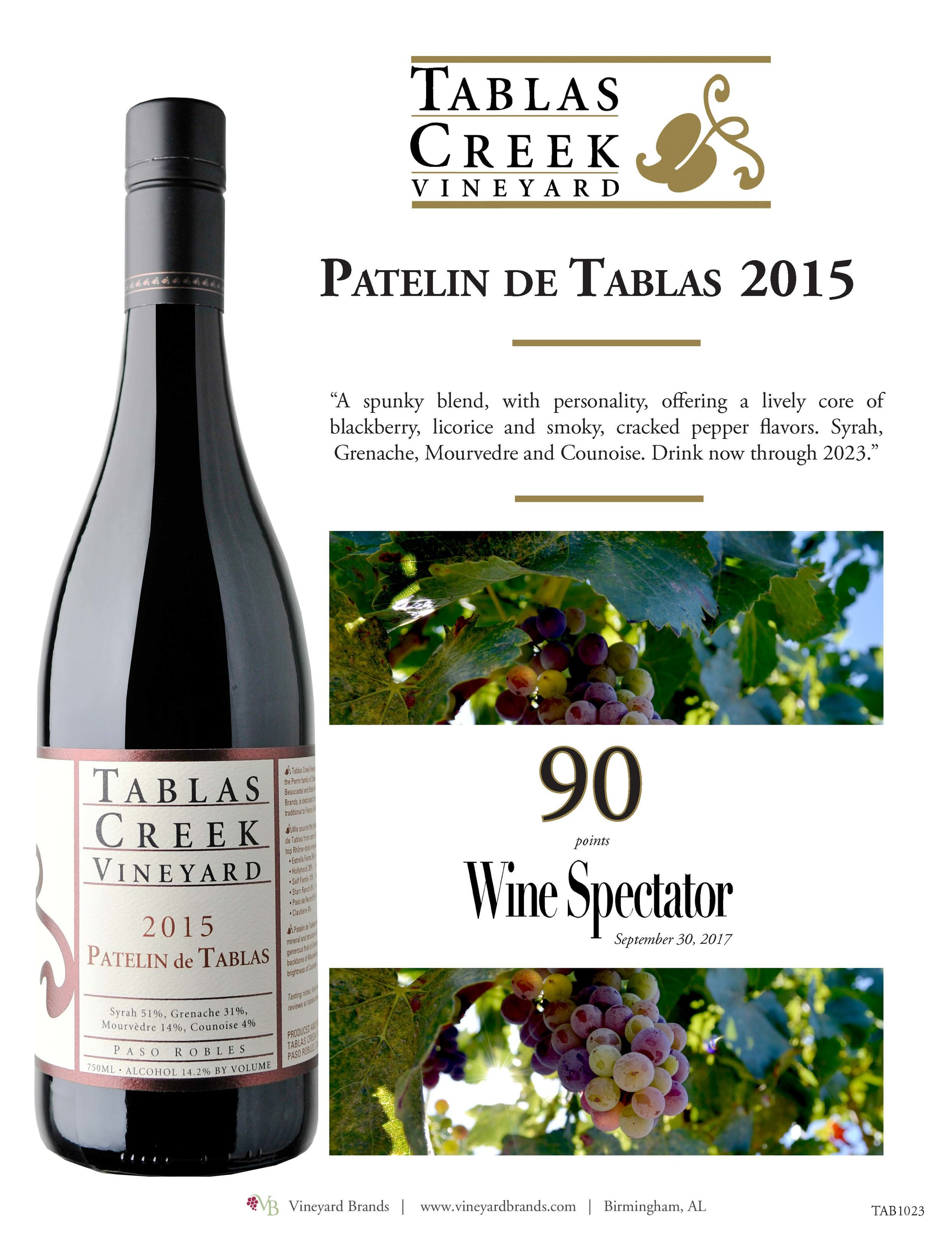 Tablas Creek Patelin de Tablas 2015 Wine Spectator.jpg