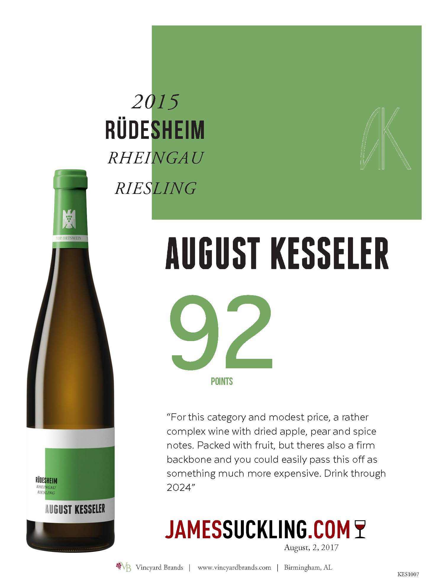 August Kesseler Rudesheim rheingau riesling 2015.jpg