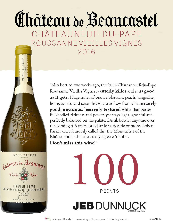 Beaucastel Chateauneuf du Pape Roussanne Vieilles Vignes.jpg