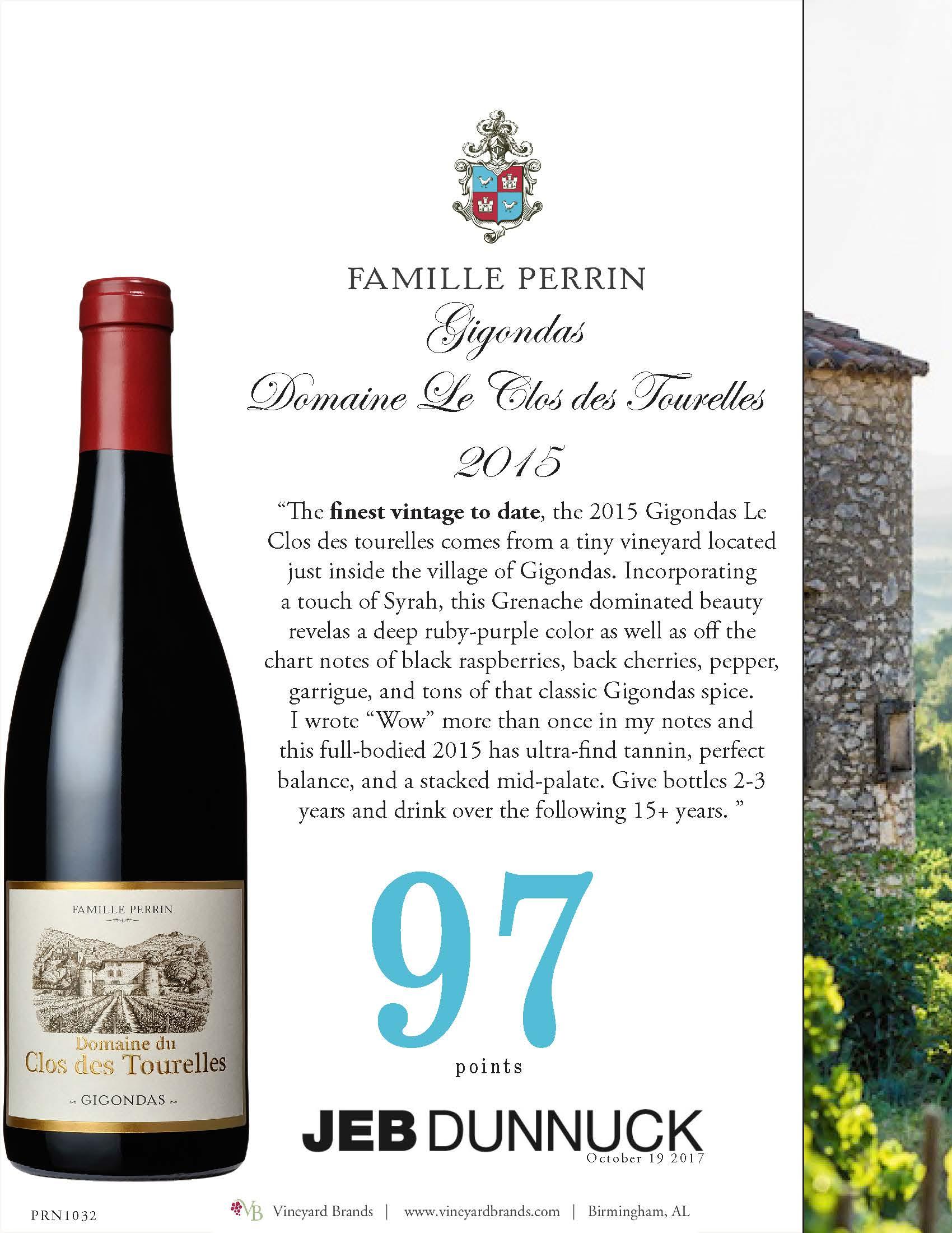 Famille Perrin_Gigondas Le Clos des Tourelles 2015.jpg