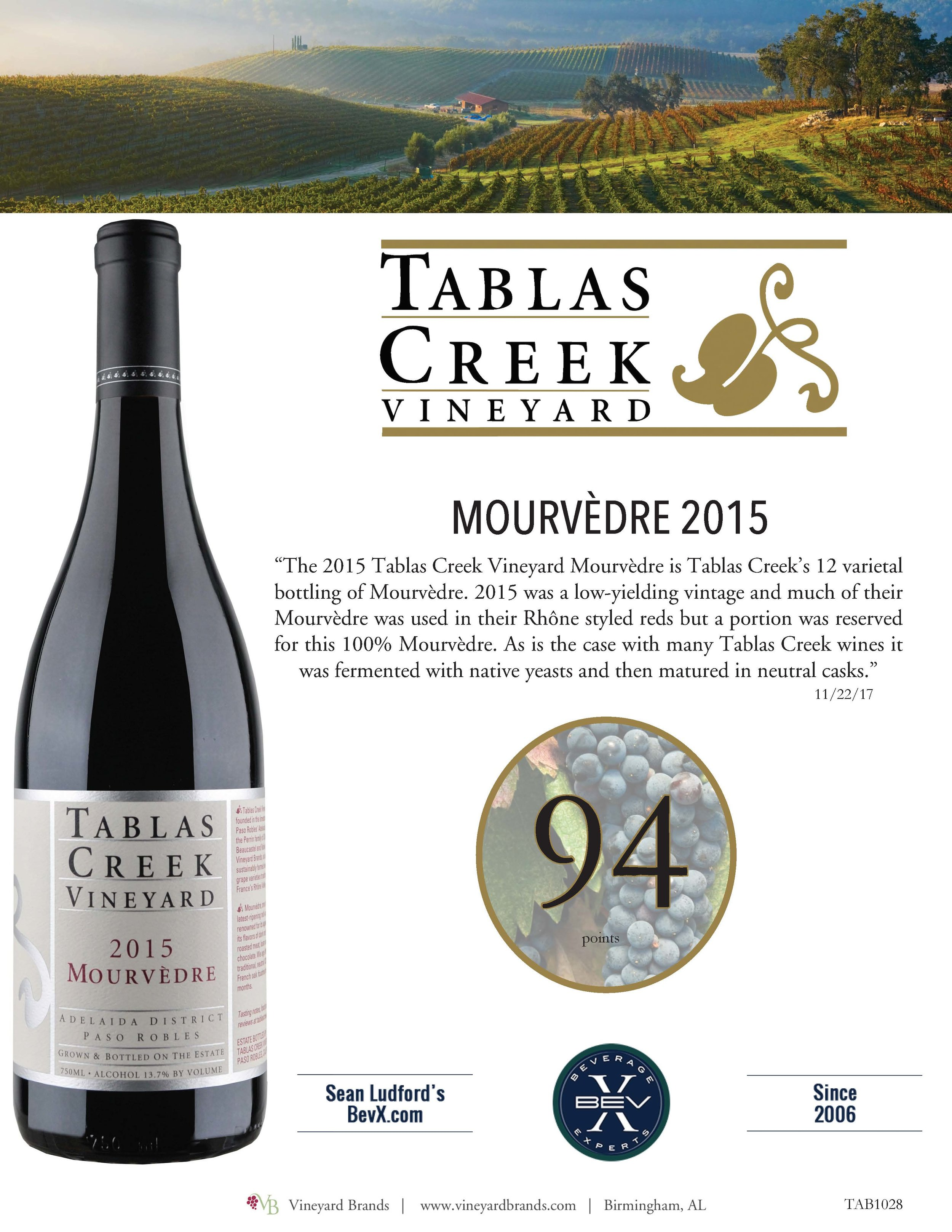 Tablas Creek Mourvedre 2015.jpg